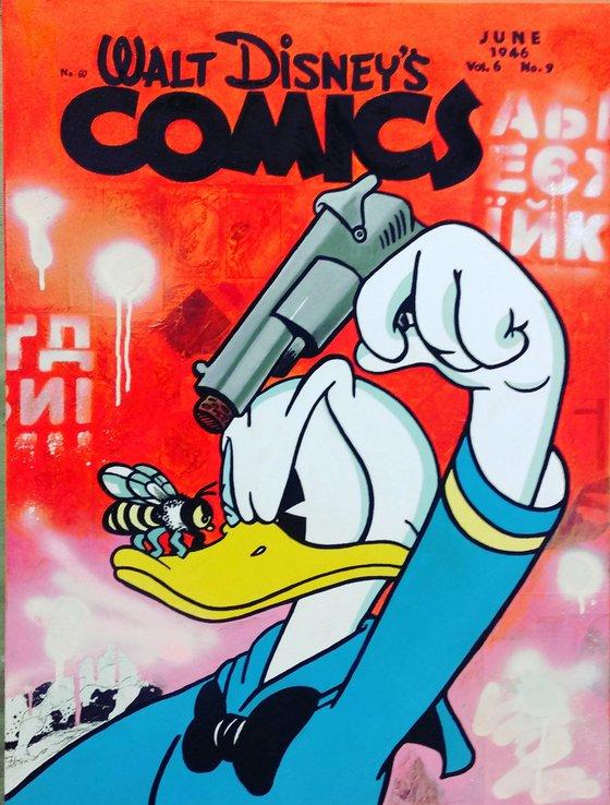 Wow, Donald Duck!
