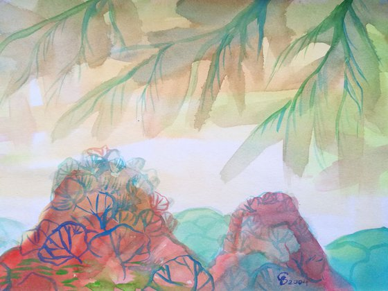 Painting   Watercolor   Summer II