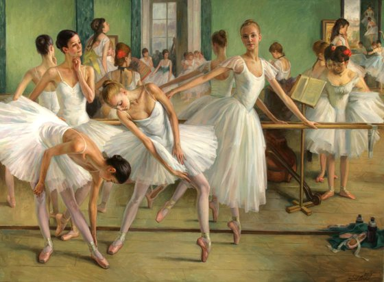 The Dance Class 1874-2013, 110x150cm, 2013