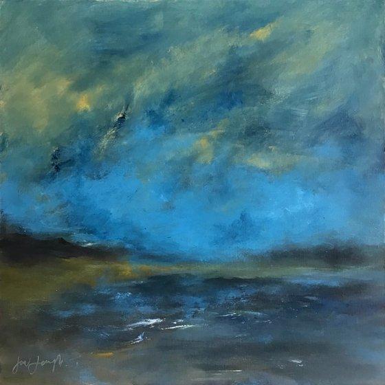 "Waters Edge - Original painting, 24 x 24"""