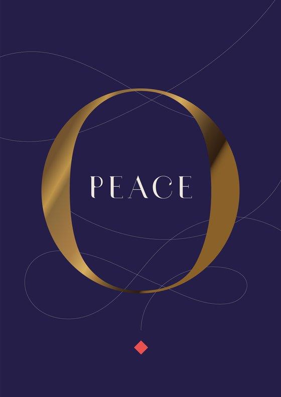 PEACE : blue