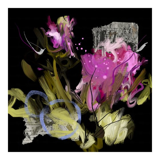 Cyclamens - Limited edition of 3