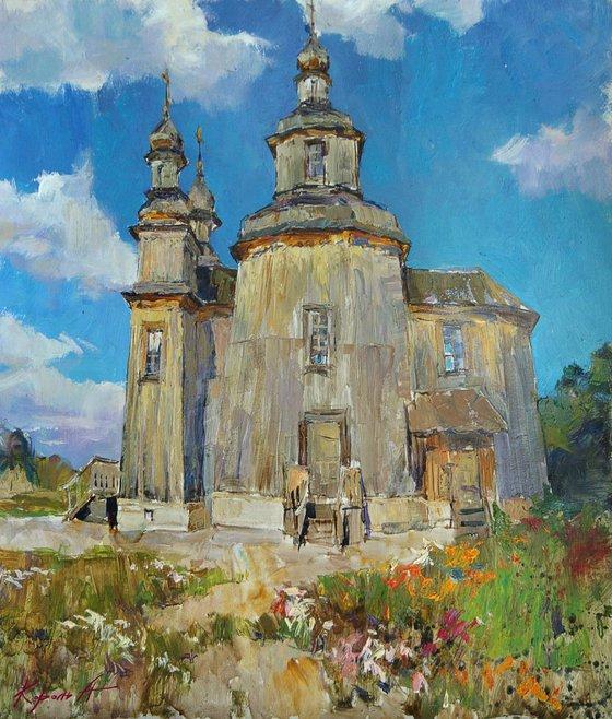 Cossack Church  52х56,5 cm 