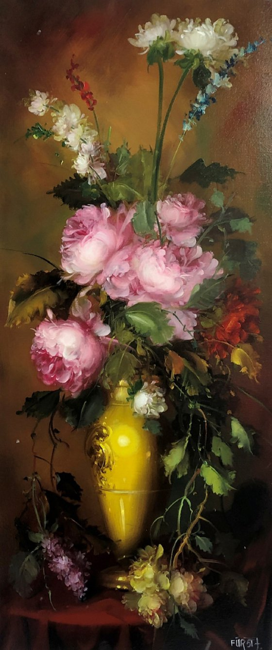 Summer bouquet (Artwork to order)