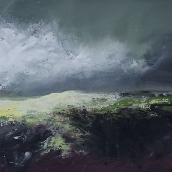 Sunlight on Hawks Tor, Bodmin Moor