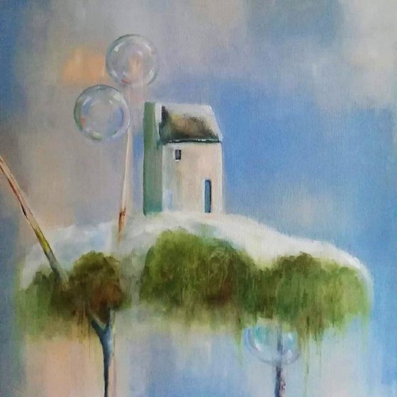 Painting | Oil | Spring home