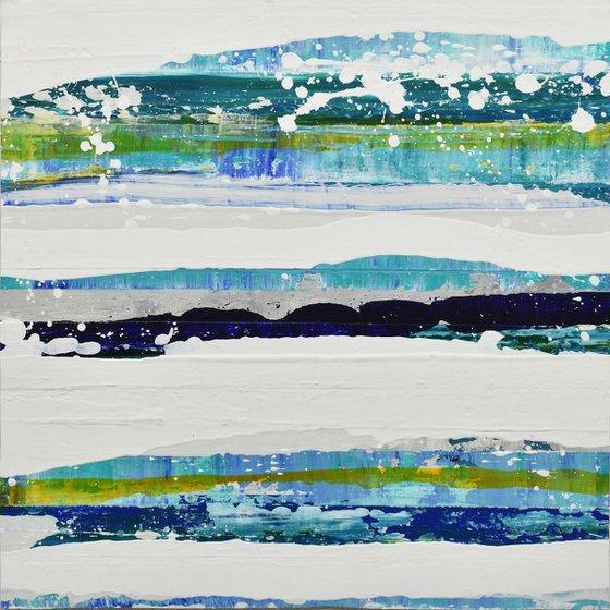 Aqua 13 - Featured Painting