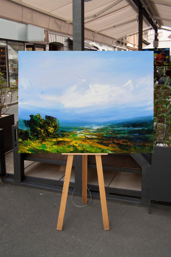 """"""" Where Heaven Touches the Earth-2 """"  80x60cm....SPECIAL PRICE!!!"""