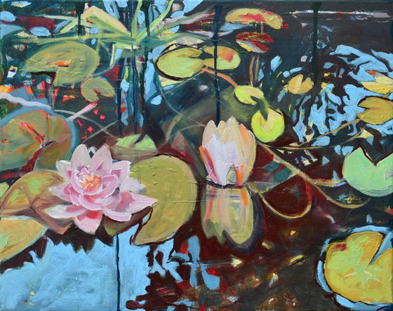 The last water lillies