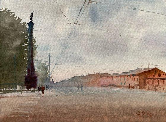 Nevsky Prospekt. St. Petersburg.