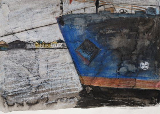 Ship in the Harbour, pencils