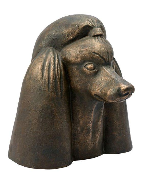 Portrait of a Poodle