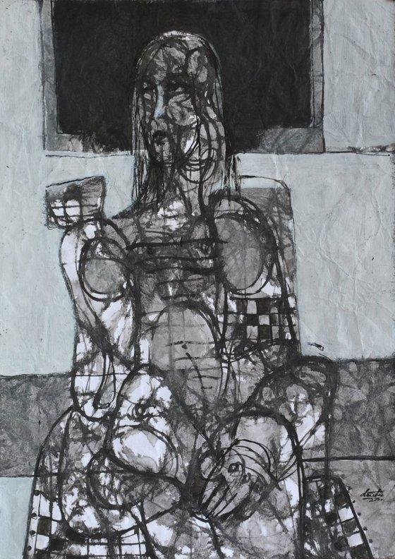 Portrait (30x42 cm)
