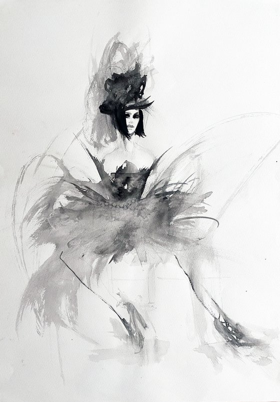 Nadia the dancer  - SOLD!!🔴