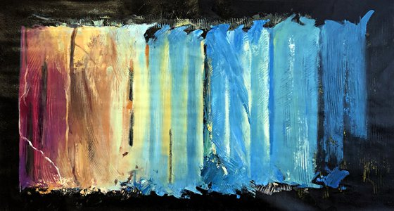 ABSTRACT 50x100cm
