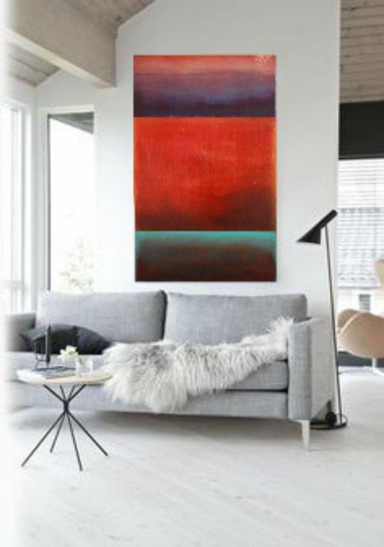 Beyond/ Modern Minimal Large Abstract