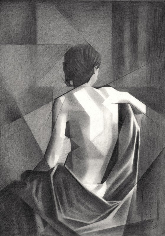 Study after Eugène Durieu's Seated Female Nude – 20-08-21
