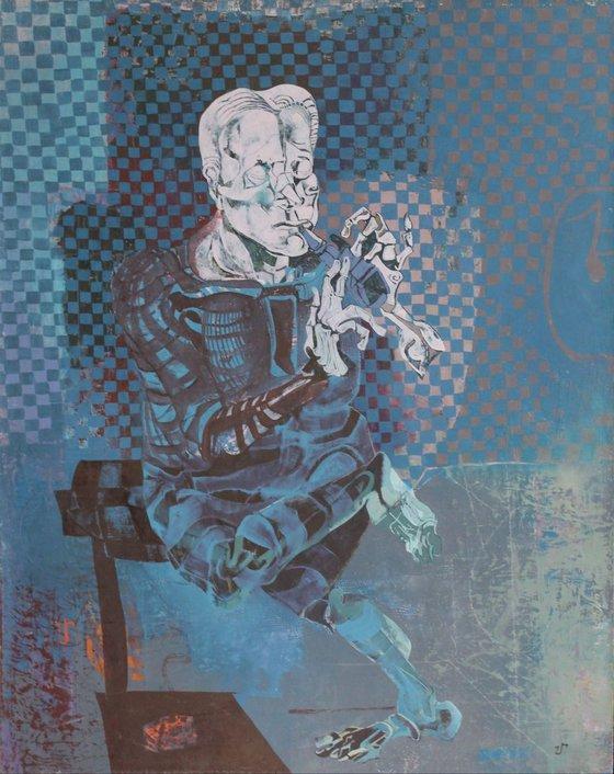 Composition (73x92 cm)