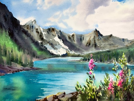 Mountain Lake #10