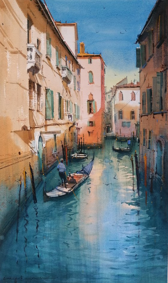Sunlight on Venice Canals