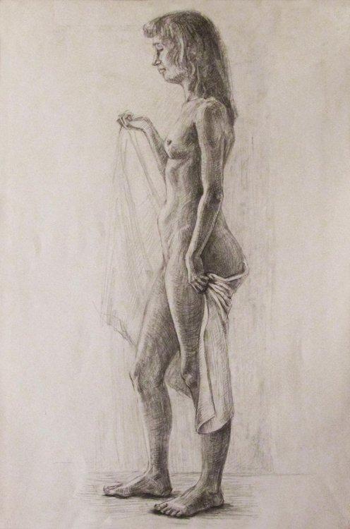 Nude Female Model