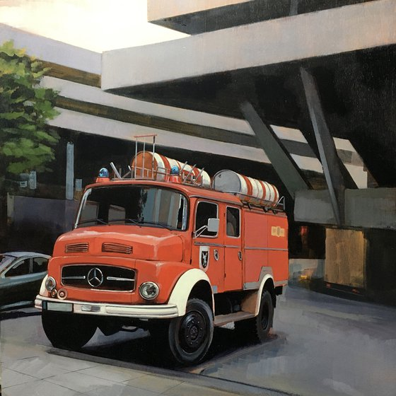 Fire Engine at The Southbank