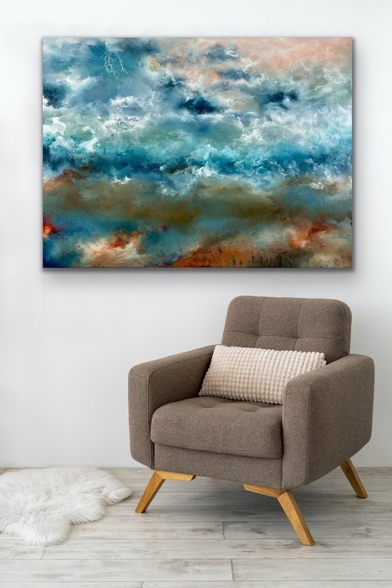 Ambient Emotions - Abstract - 80cm x 100cm