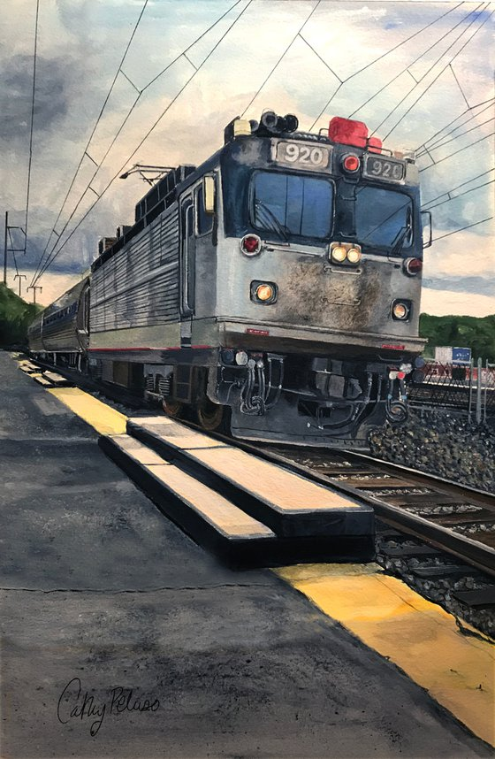 Train from Temple University