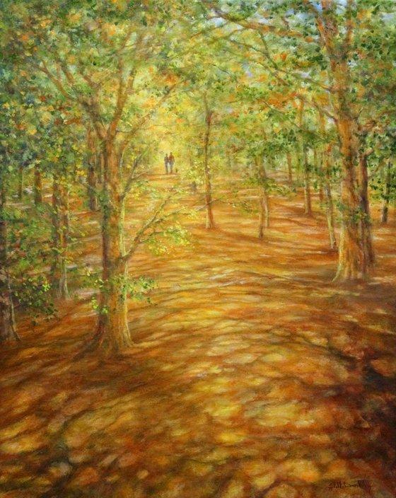 Dappled Path II