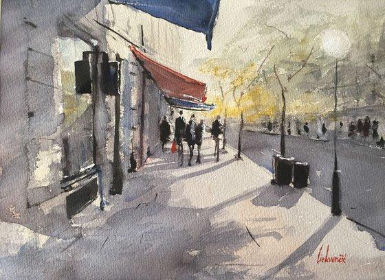 Zagreb - sunny street