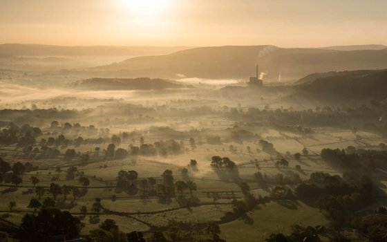 Hope Valley Sunrise  - Limited Edition Print 2015