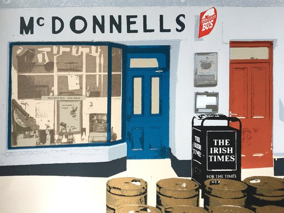 Irish shop fronts - Mcdonnells