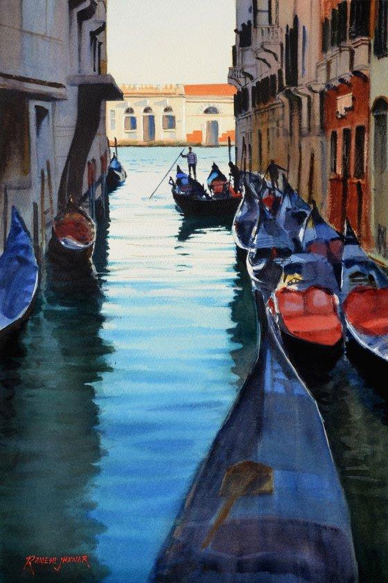 Noon break, Venice