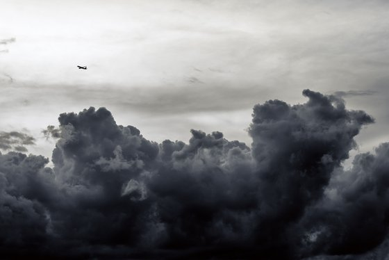 Over the Storm | Limited Edition Fine Art Print 1 of 10 | 90 x 60 cm