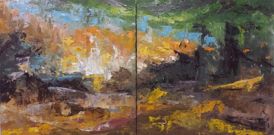 Forest Diptych
