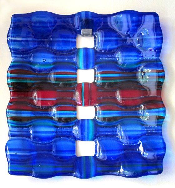 Blue Carpet  - Glass panel