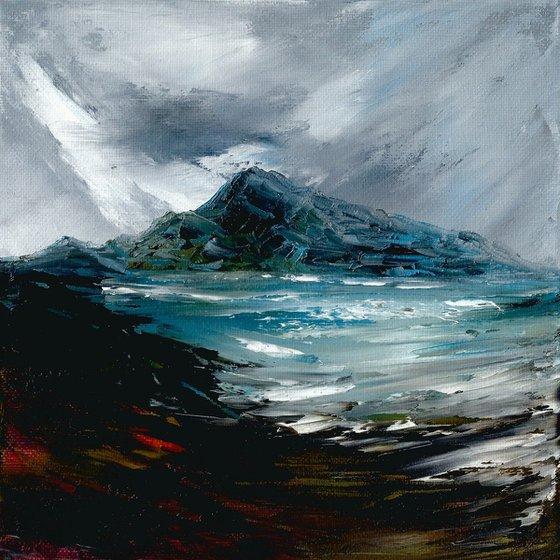 Bàgh creagach, British coastal seascape