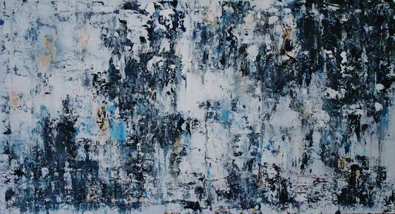 Abstract,black and white,christmas sale 700 USD now 445 USD.
