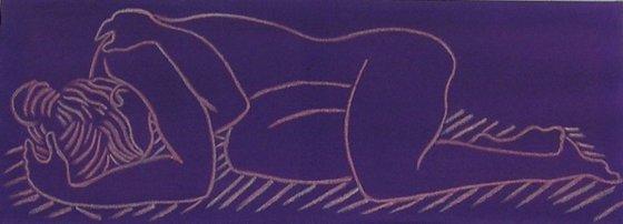 Nude:  Purple purple (Rainbow Series)