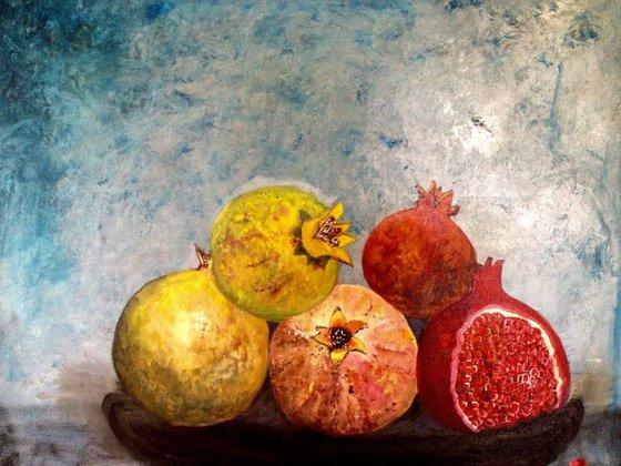 The pommegranates