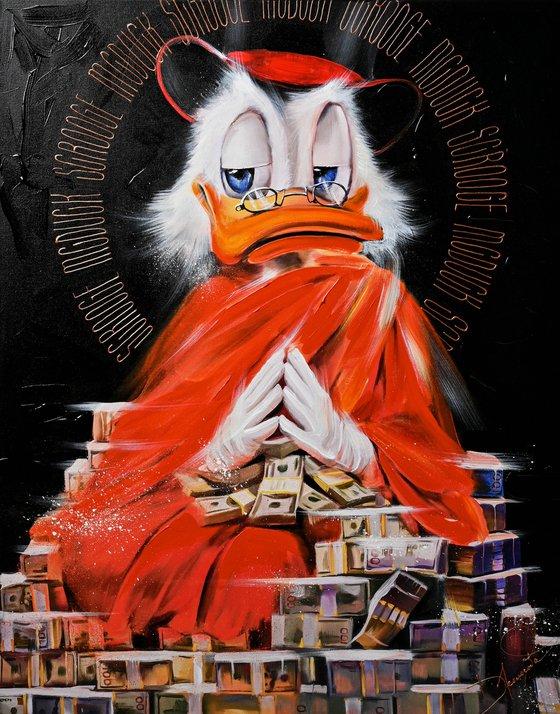 Monk Scrooge Giclee