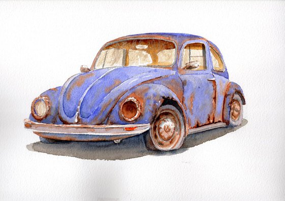 VW beetle - the People's Motoring Icon