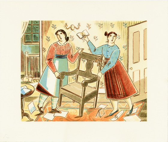 Moving the Poet's Chair