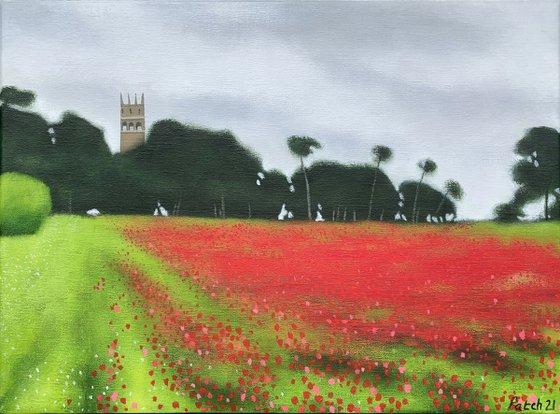 Faringdon Folly Poppies