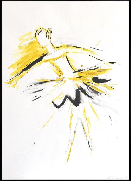 Golden dancer III