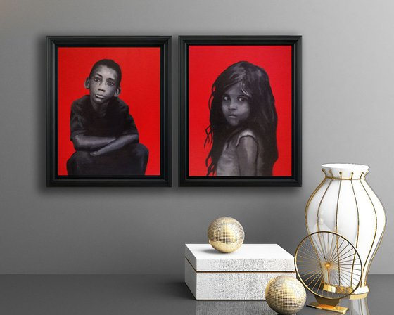 Red (diptych)