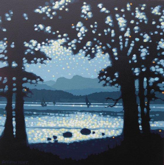 Lake sparkles