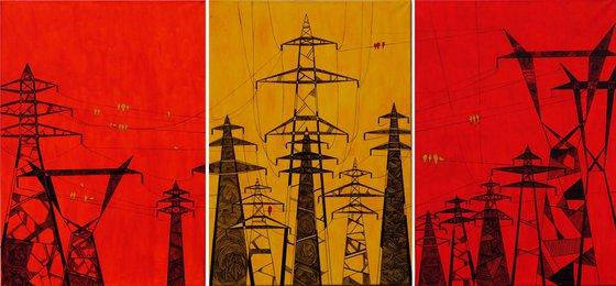 """Birds On Wires III"""