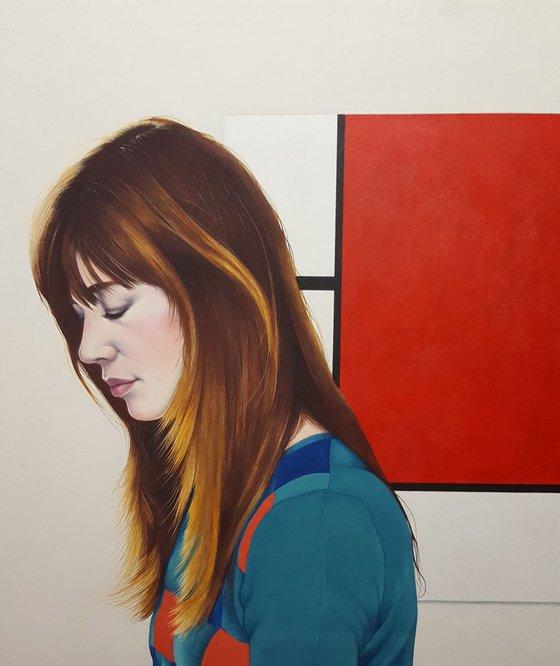 Françoise bores with Mondrian.