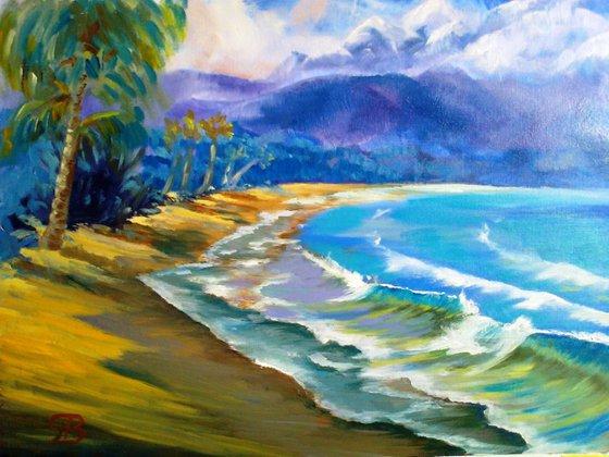 A New Day - Hanalai - Kauai - Hawaii